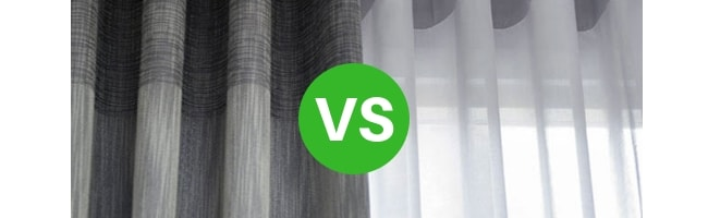 soundproof curtains are darker and block light aswell as sound